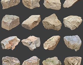 Stones Pack Volume 5 3D asset