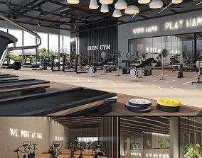 3D Fitness Center Gym cardio