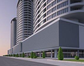 shoppimg Residential building 3D model