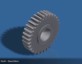 3D print model 30-Tooth Spur Gear 03