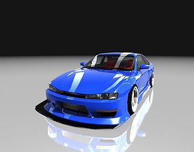 3D model Nissan Silvia S14 Kouki