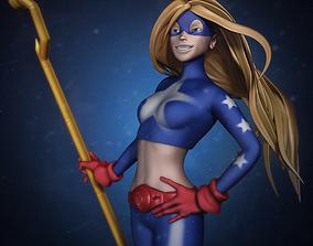 Star Girl DC Universe 3D print model