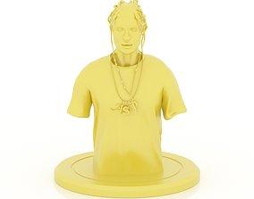 3D printable model ASAP Rocky Bust