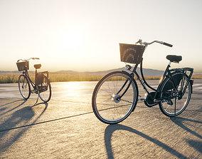 Classic bicycle cinema4d 3D model