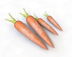 carrot 3D model realtime Carrot