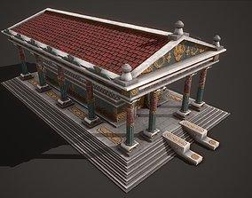 3D model Temple Artemis