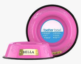 3D model Large Bowl Cotton Candy Pink