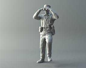 3D printable model General miniature II World War