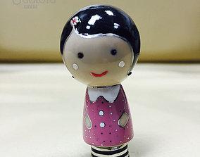 Pet Doll for applying enamel 3D printable model