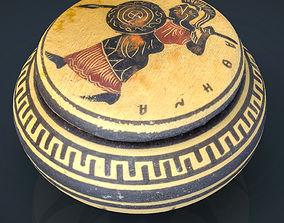 3D asset Greek Vase