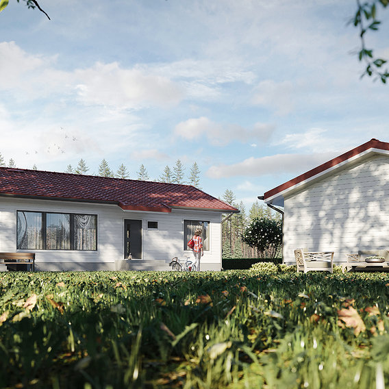 House visualization in Finland