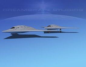 3D model X-47B UCAS 2