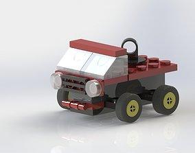 LEGO Car 3D printable model