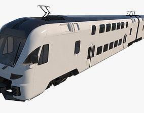 Stadler Dosto Passenger Train 3D