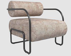 Ardent Club Chair by Kelly Wearstler 3D model