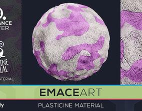 PBR Plasticine Material 3 Substance Unity 3D model