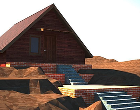 House - countryside house 3D asset