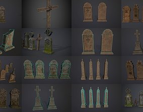 3D model Gravestones COLLECTION