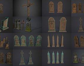 3D model Gravestones COLLECTION