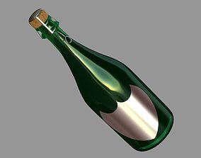 3D model Champanger Bottle