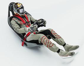 High Quality Race Driver Suit 3D