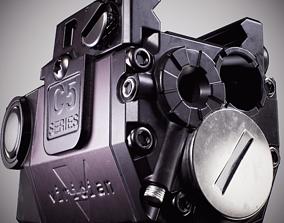 Viridian C5L Universal Green Laser Sight and Tac 3D model