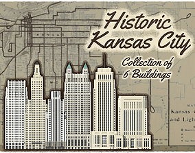 3D printable model Historic Kansas City Pack