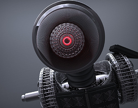 Unarmed Robot WIP 3D model