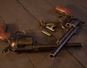 Colt Single Action Army Peacemaker 3D model