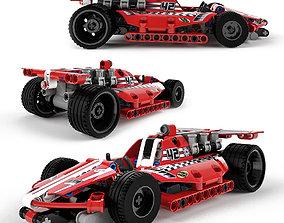 Lego Technic Race Car 3D