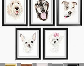 3D model Art Frams 18- Happy Pet Art 2