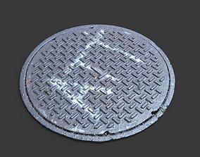 3D model ATT Manhole Cover