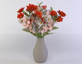 Flowers Bouquets Set 10 3D Model game-ready