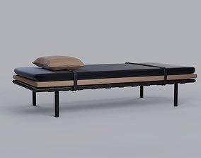 Modern Daybed Couch 3D asset