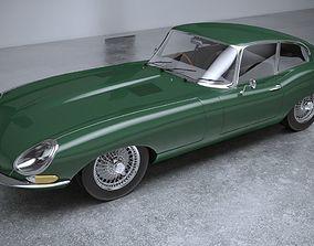 3D Jaguar S8 E Type 1961