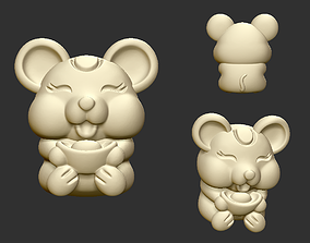 lucky mouse 3D print model
