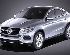 Mercedes-Benz GLE Coupe 2017 VRAY 3D