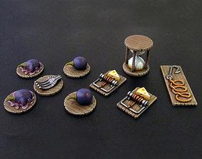 Tokens - Mice and mystics 3D print model