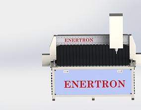 CNC Wood Routing Machine 3D model