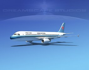Airbus A320 LP China Southern 3D model