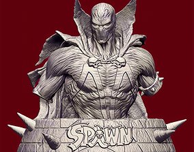 3D printable model Spawn Bust