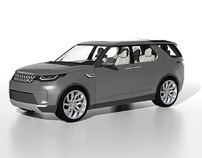 3D model Land Rover Discovery Concept 2014