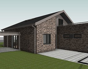 Single Family House bim 3D model