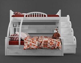 Children - bunk bed 02 3D model