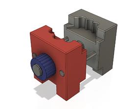 holder for repair and adjustment of clock 3D print model 2