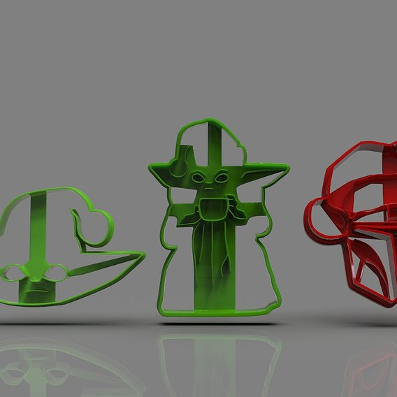 Mandalorian Cookie Cutter Collection