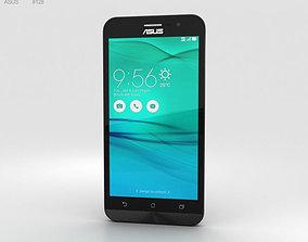 Asus Zenfone Go ZB500KL Charcoal Black 3D