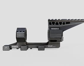 3D model Geissele Super Precision 34mm Vanguard Scope