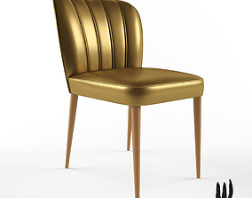 3D model Brabbu Dalyan dining chair