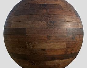 3D model Wood floor planks PBR material 4K Free